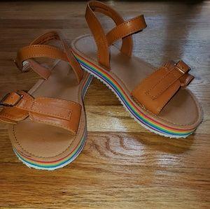 Girls (kids) Nina platform sandals